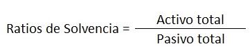 ratio solvencia