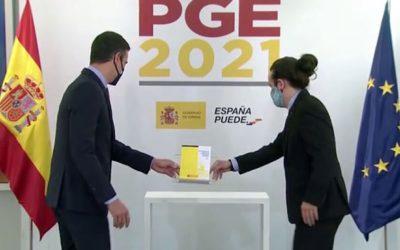 Nuevas medidas fiscales en los PGE 2021